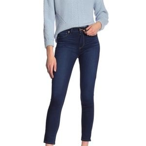 NEW PAIGE Hoxton Ankle Skinny Jeans 32